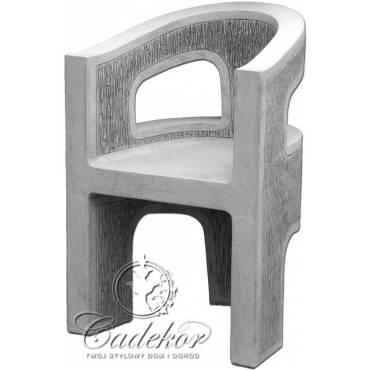 Fotel ogrodowy - minimalistyczny