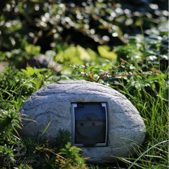 Kamień gniazdo betonowe