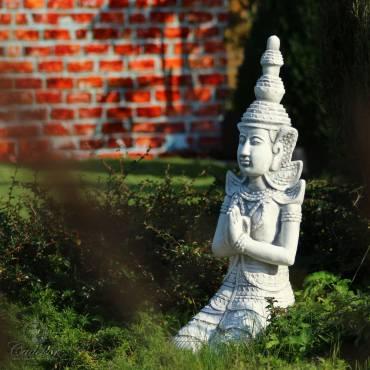 Klęczący Budda - dekoracja orientalna