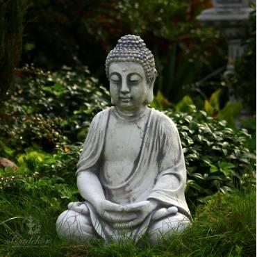 Postarzany Budda - ogród japoński