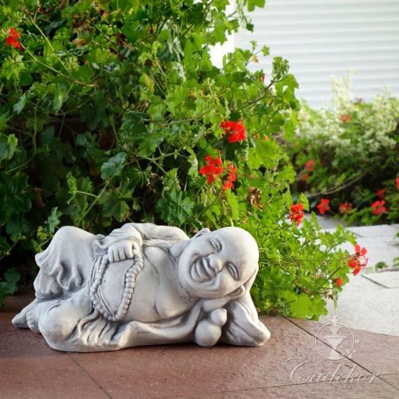 Leżący Śmiejący się Buddha