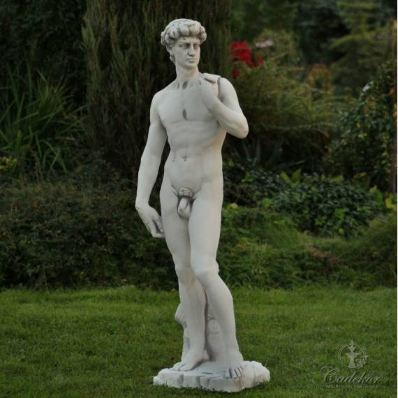 Figura ogrodowa - Adam