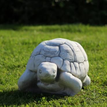Figurka ogrodowa żółwik