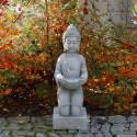Klęczący Budda z miską
