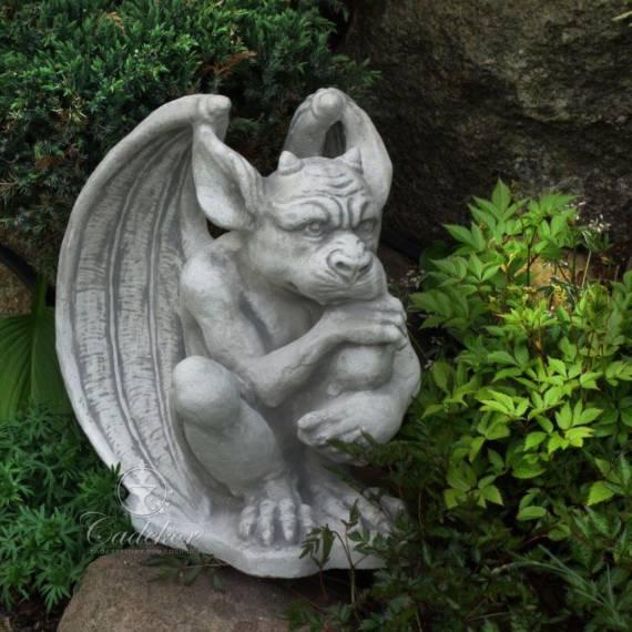 Figurka Gargulec maszkaron