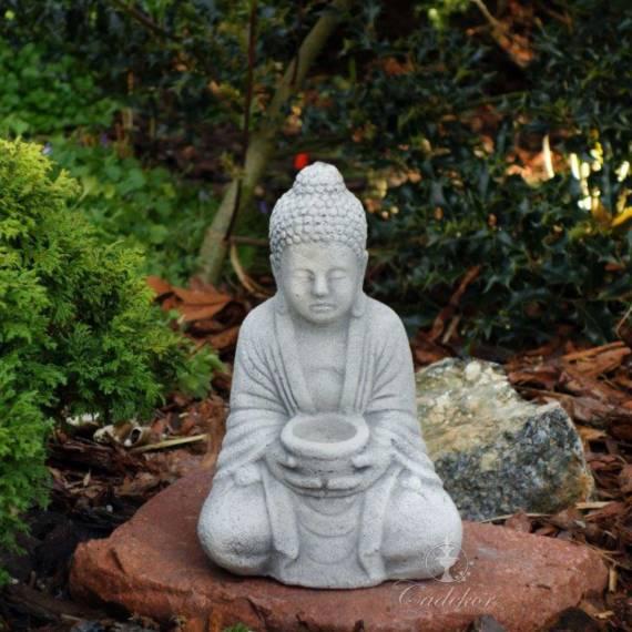 Mały Budda z miską