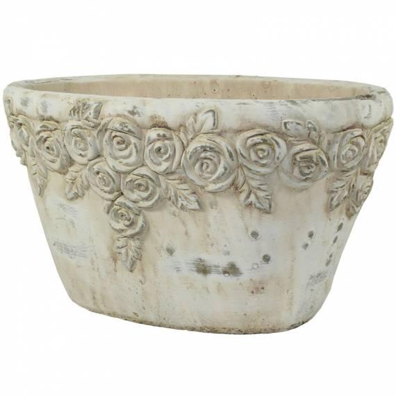 Osłonka ceramiczna – róże