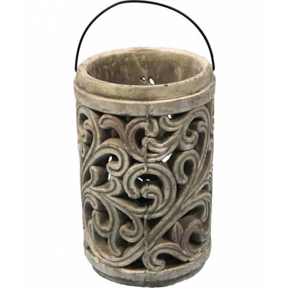 Lampion ceramiczny 25cm