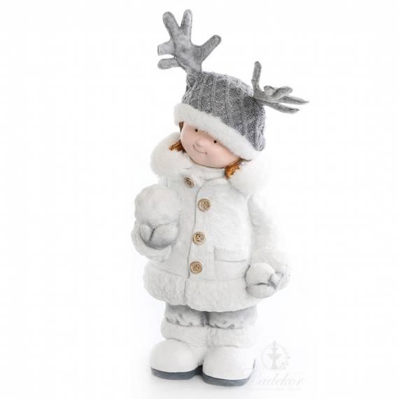 Dziewczynka ze śnieżką