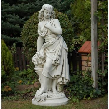 Melisa - kobieta z kwiatami