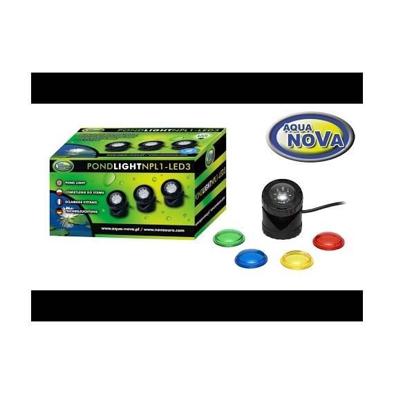 Aqua Nova Npl1 Led3 Oświetlenie Stawu Fontanny Oczka Wodnego Led
