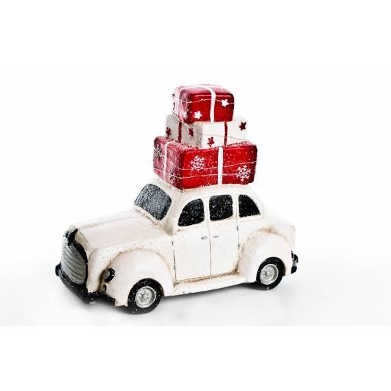 Samochód z prezentami 34 cm