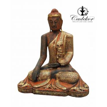 Złoty Budda Samadhi 101 cm