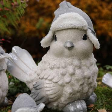 Figurka świątecznego ptaka 35 cm