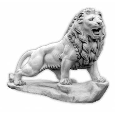 Duży Lew kroczący lewy