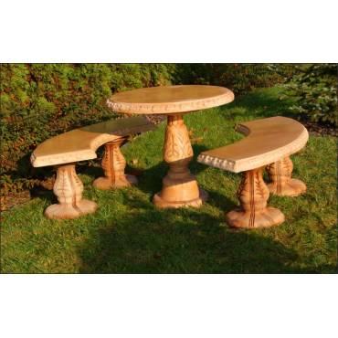 Stół okrągły FOGGIA