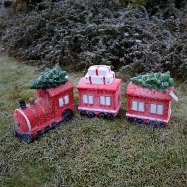 Pociąg z wagonikami 30 cm dł. 80 cm