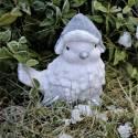 Świąteczny ptaszek - figurka ceramiczna
