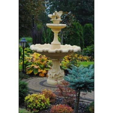 Brunnen NAPOLI mit den Tauben 2