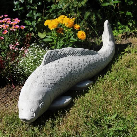 Duża ryba – fontanna