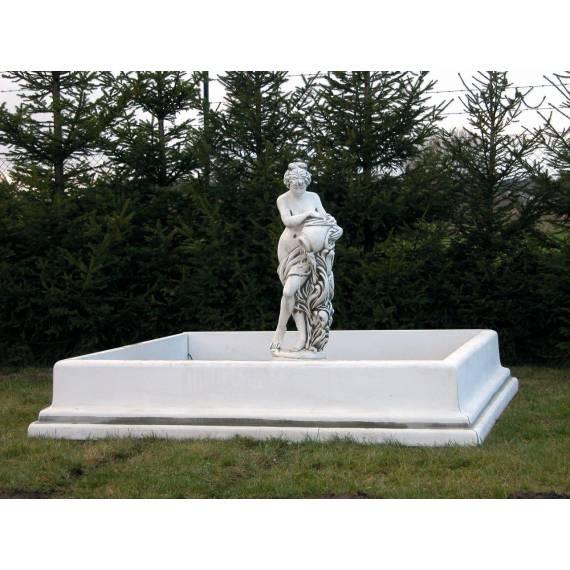 Round pool / fountain border 180 cm