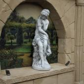 Merkuria Gartenfigur