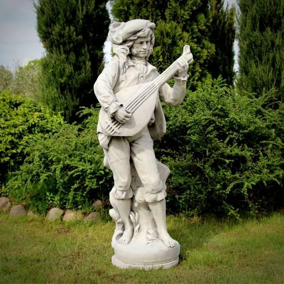 Figura Bard z mandoliną