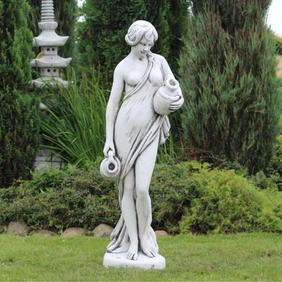 Frau mit zwei Krügen - Überlauffigur