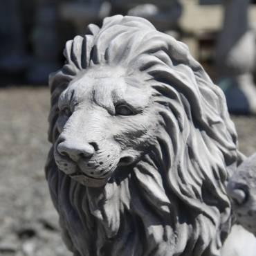 Lion - middle left