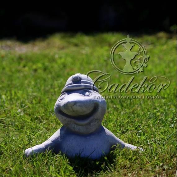 Krecik w kasku - figurka ogrodowa