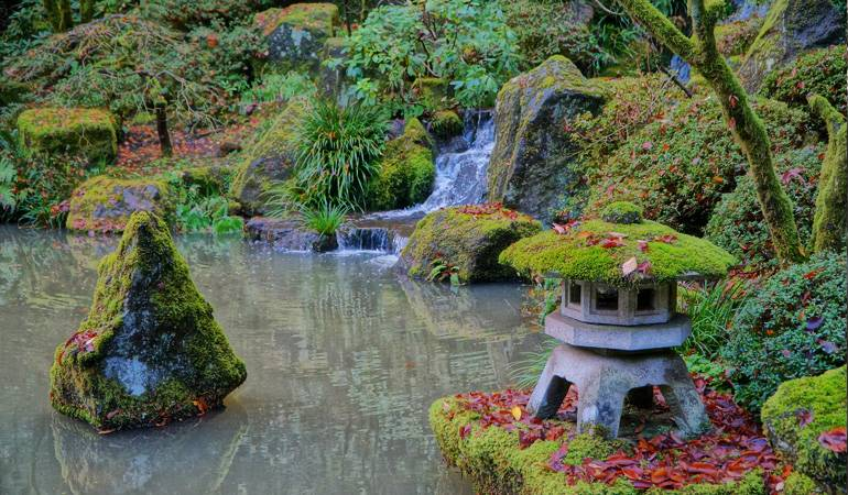 Japanese garden - 5 steps to harmony with nature